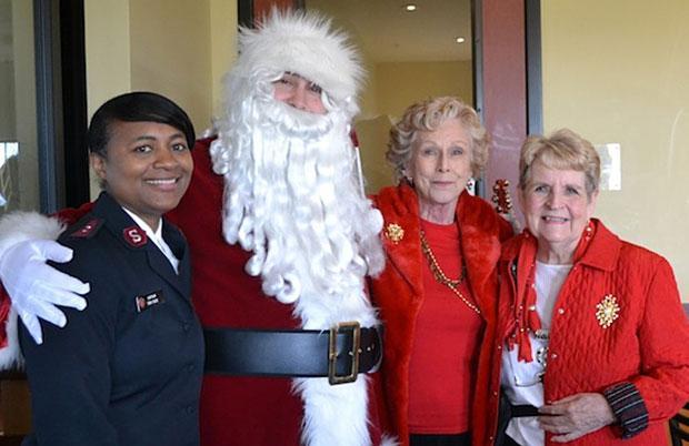 Soroptimists host Christmas party for Hope Harbor