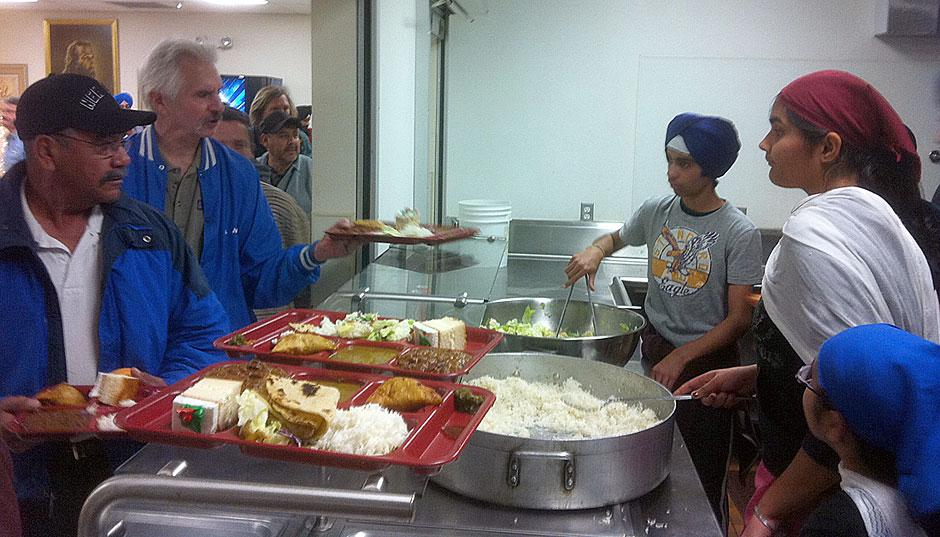 Lodi Sikh temple reaches out to community by helping the needy, hosting observance