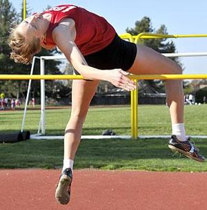 High jump, pole vault highlight Sac-Joaquin Section meet's first day