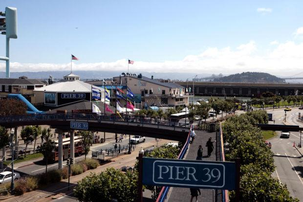 Take in the sights, sounds and savors at Pier 39 in San Francisco