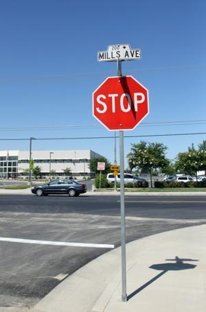Mills Avenue reopens