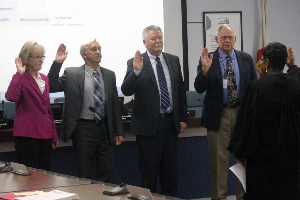 LUSD board says goodbye to two members