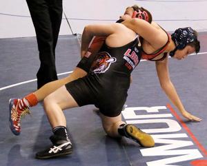 Caleb Byrd soars at California wrestling championships