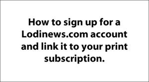 E-edition: Sign-up