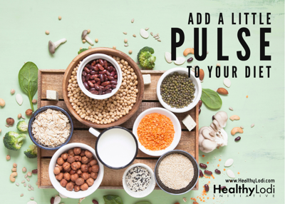 Healthy Lodi Initiative: Pulses add protein, fiber to diet