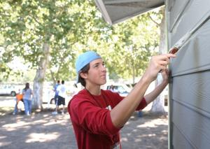 University of the Pacific students help renovate Habitat for Humanity house