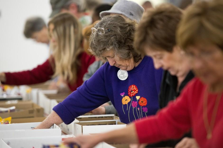 Lodi Support Our Troops members, volunteers pack 2,500 care packages