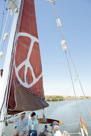 Peace ship crews reunite in the Delta