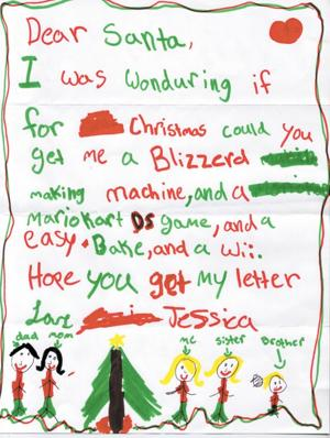 38c8b1ccea9 Letters to Santa - Lodinews.com  Special Sections