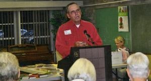 Tom Hoffman was speaker at AAUW