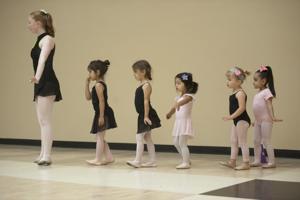 Preschoolers learn ballet at Hutchins Street Square in Lodi