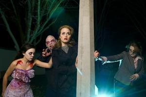 Zombies, fear take over Hutchins Street Square during night of theater