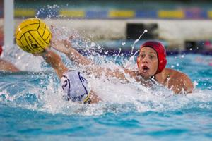 Nic Carniglia hits world stage in water polo