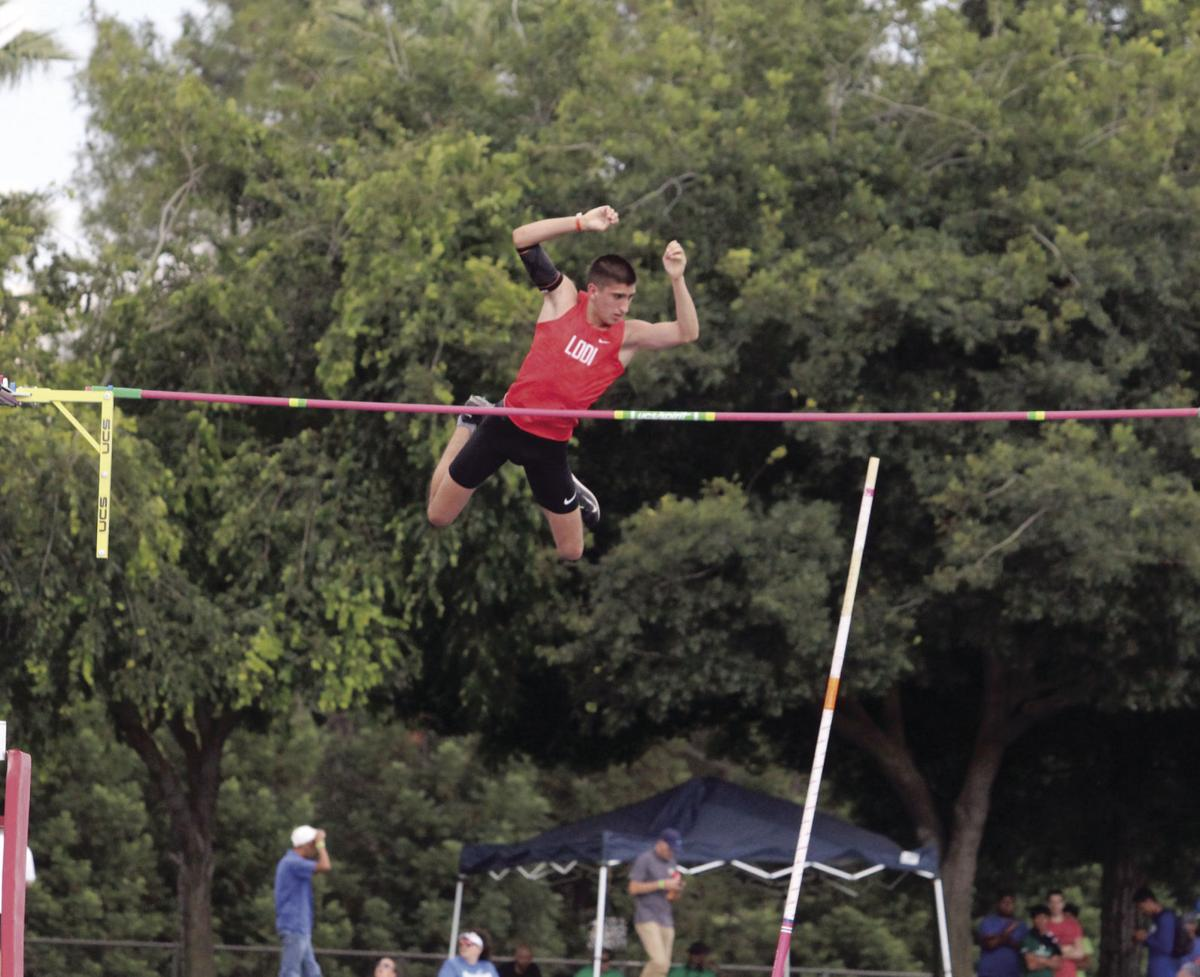 CIF State Track and Field Championships: Lodi's Wright soars to state title