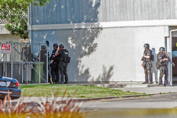Man arrested after hours-long standoff