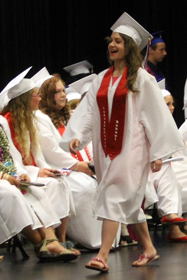 Independence High School graduates enjoy the moment