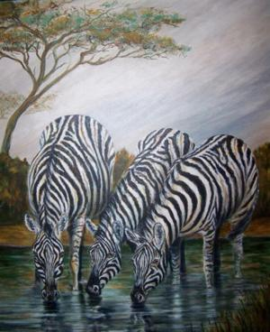 Lodi painter and art instructor Wilma Ogella shares her works at one-night show at Java Stop
