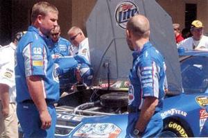 Lodi's Cunnington along for the ride in NASCAR win