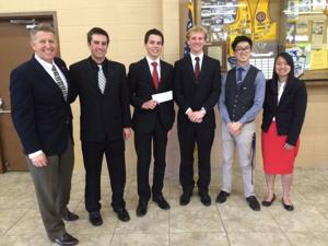Lions Club Student Speaker contest