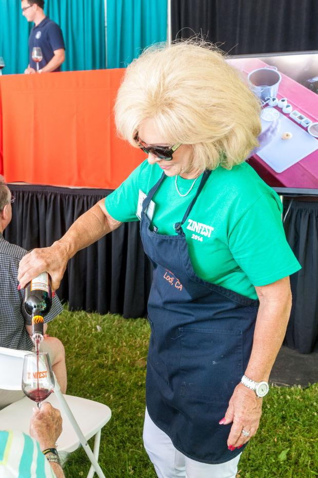Wine lovers enjoy ZinFest at Lodi Lake Park