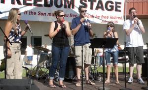 Freedom Fest honors military sacrifice, service