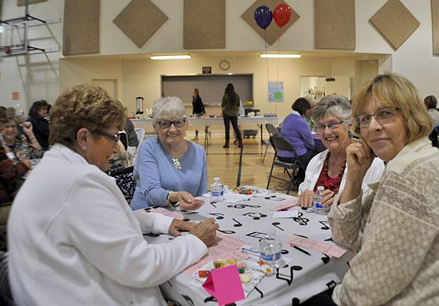 American Association of University Women hosts Bunco party fundraiser