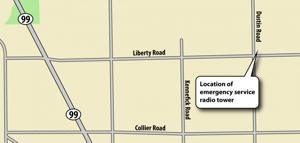 Emergency radio service to improve near San Joaquin-Sacramento county line