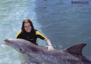 Snapshots: Swimming with the dolphins in Scottsdale, Ariz.