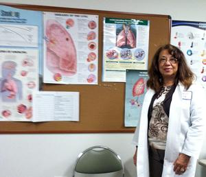 Respiratory Works president Rene Fong hopes to spread asthma awareness