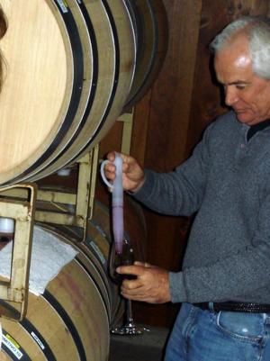 Sorelle Winery's Mike Scott and 2010 Primitivo