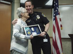 Police Partner retires after 25 years