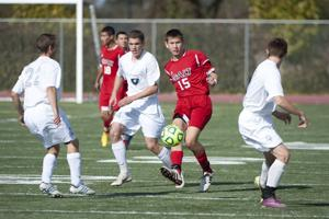 Warriors fall short in varsity boys soccer final