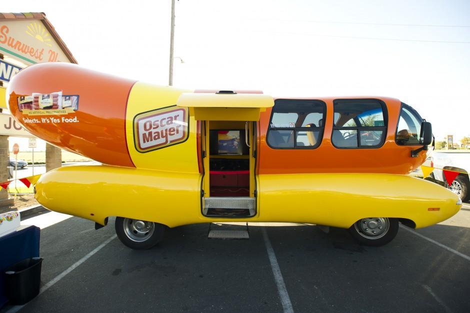 Oscar Mayer Wienermobile visits Lodi