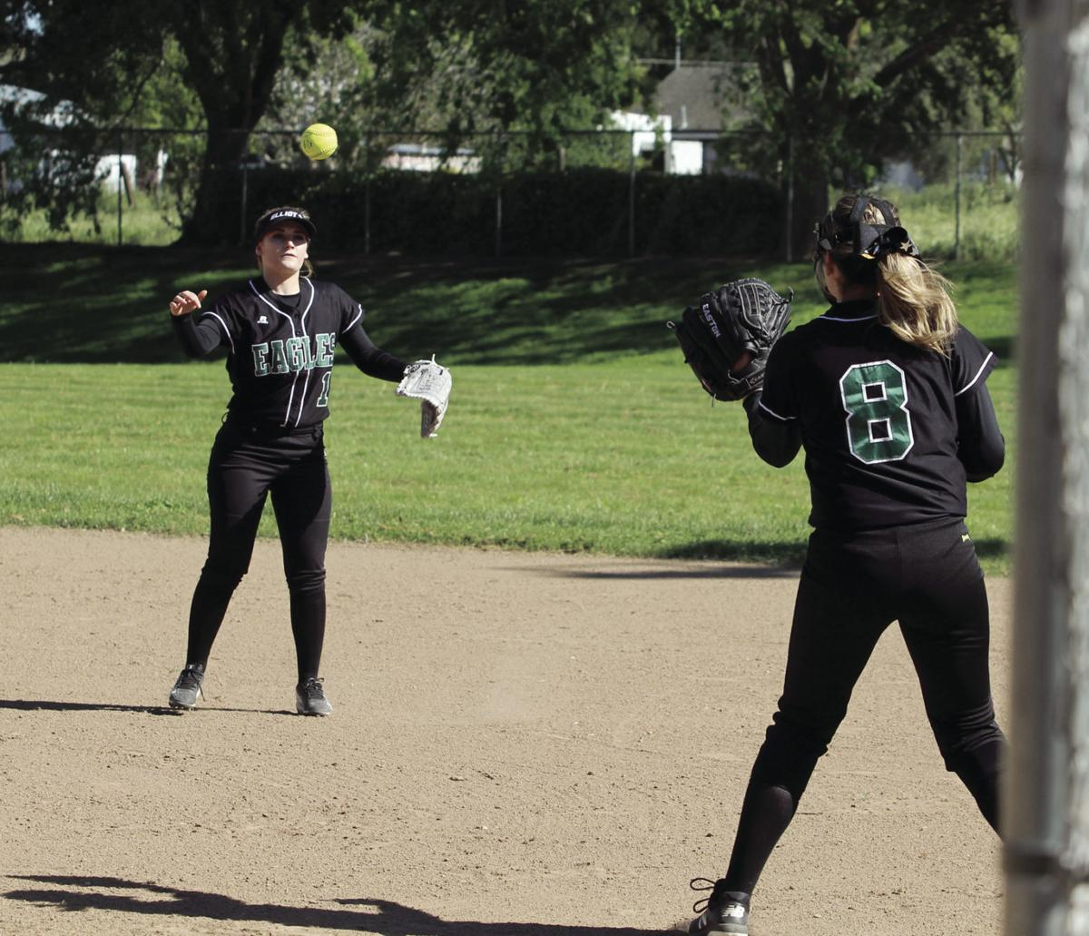 Softball: Eagles no match for the Knights