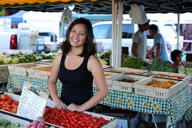 Nyia Yi Farms features a fusion of American and Asian produce
