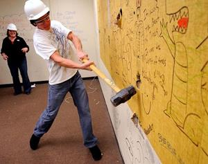 Technology wing is a smash hit with Galt High School students