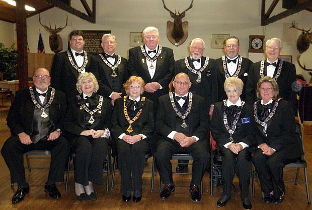 Lodi Elks Lodge No. 1900 installs new officers