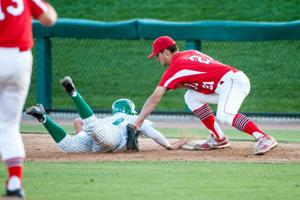 Baseball: Flames hit roadblock in Joey Caffese and the Rams