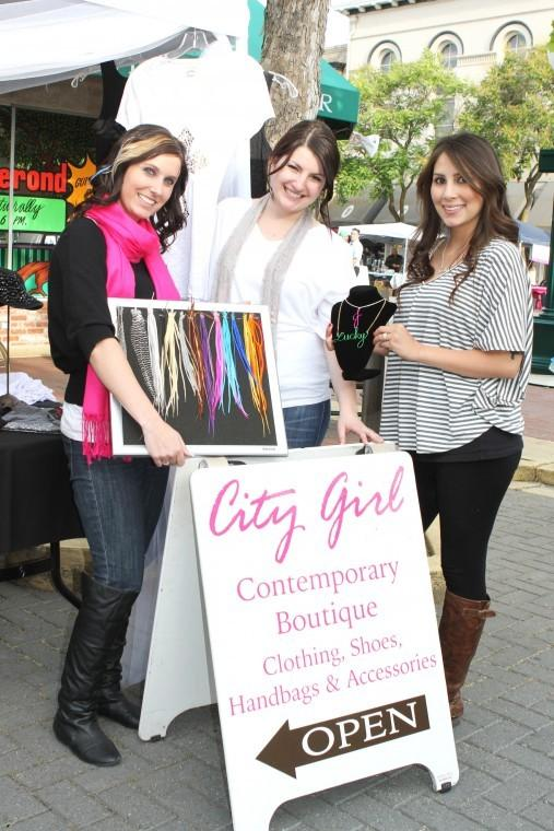 City Girl boutique has booth at Downtown Lodi Farmers Market