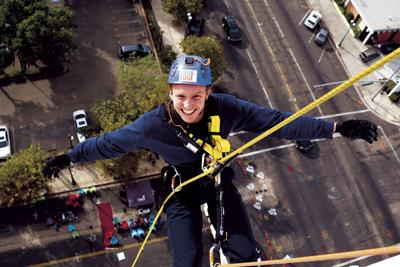 Hospice to go Over the Edge once again