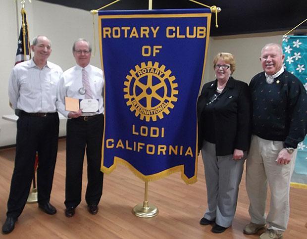 Lodi Rotary Club recognizes Paul Harris Fellows