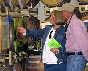 Art aficionados barrel their way to art and wine in Lodi
