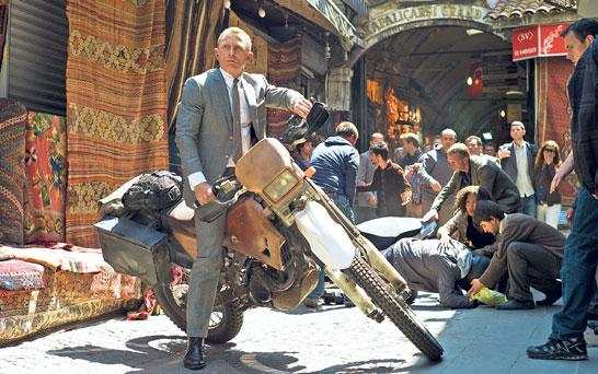 James Bond returns to redeem a problematic franchise