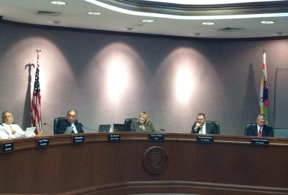 Boy Scout corrects Lodi City Council on flag display