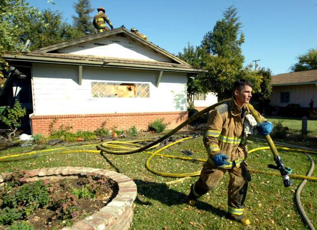 Michael Alegre named Lodi Firefighter of the Year