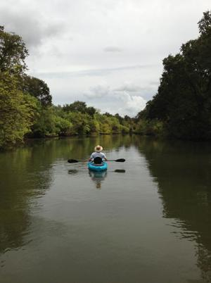 Enjoy the serenity of kayaking on the Cosumnes River Preserve