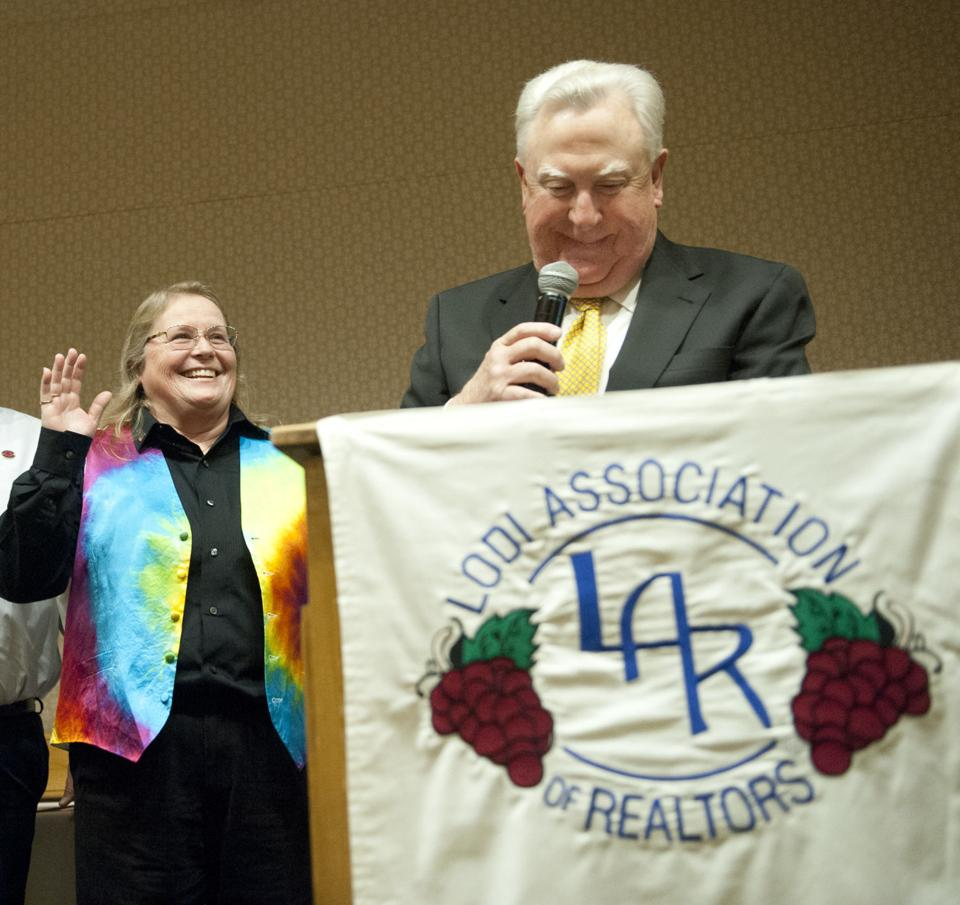 Lodi Realtors name Realtor of the Year; install president