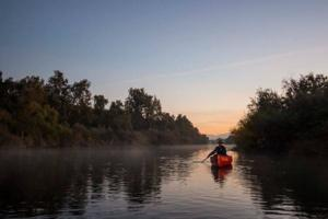 Explore the outdoors by taking a water way tour