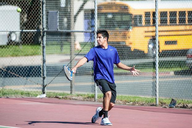 Boys tennis: Tigers vs. Vikings