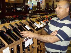 Lodi Avenue Liquors owner Balbir Singh